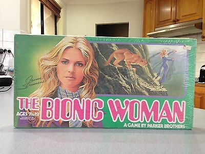 vintage ~The Bionic Woman game 1976 Parker Brothers ~ New Old Stock