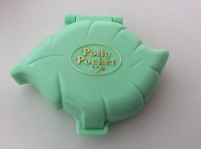 Vintage Polly Pocket 1991 POLLY'S EARRINGS AND CASE 100% Complete  Vgc