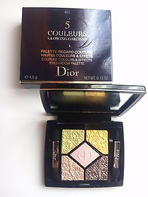 Palette ombretti Dior 5 Couleurs Glowing Gardens 451-Rose Garden