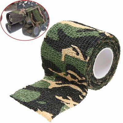Self-adhesive Non-woven Camouflage Wrap Rifle Hunting Camo Stealth Tape