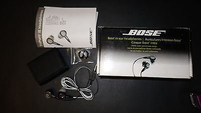 écouteurs BOSE in ear intra auriculaire NEUF dans boite.