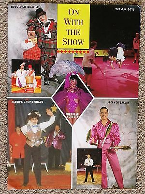 1994/95 Roberts Brothers Festive Circus Programme + Flyer