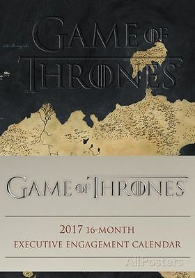 Game Of Thrones Official Desk Diary 2017