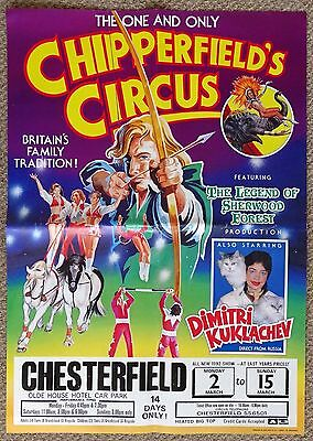 Chipperfield's Circus Robin Hood Poster