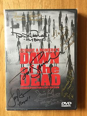 Dawn of the Dead - George A. Romero - 8x signiertes Cover