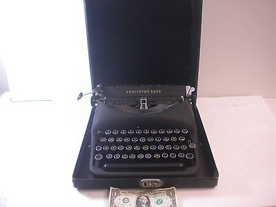Vintage Antique Remington Rand Model 5 Portable Manual Typewriter