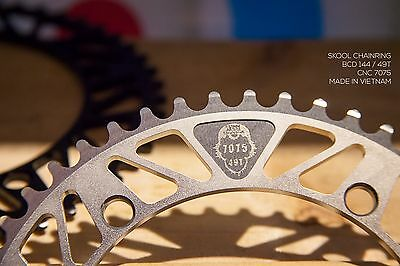 Track/fixie fixed gear/ Pista chainring 49T /144bcd - 1/8