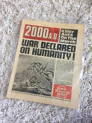 2000AD Prog 78 'BANNED ISSUE'!