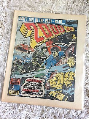 2000AD Prog 6 - with 'Future Graph' intact!