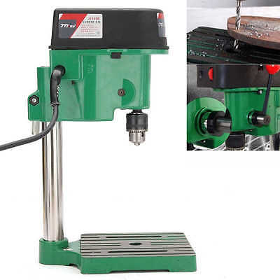 220V Electric Bench Drill Press Table Stand Base Bracket Machine Hole Drilling