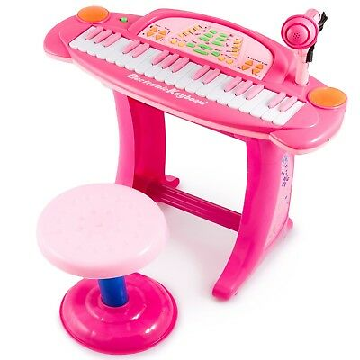KP3274 Children Piano Toy Keyboard PINK musical instrument NEW