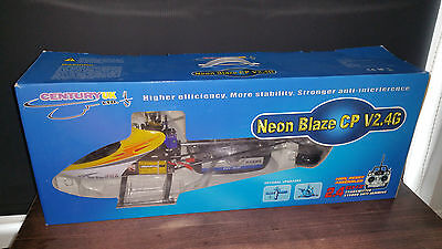 Century Neon Blaze Cp V2 4G Rc Lipo Helicopter New