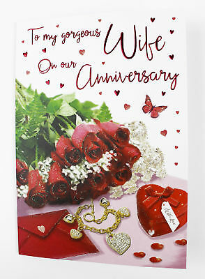 To my wife our wedding anniversary greeting card envelope seal to my wife our wedding anniversary greeting card envelope seal womens verse m4hsunfo