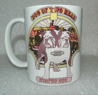 STATUS QUO 'DOG OF TWO HEAD' - STUNNING 11oz  COLLECTORS MUG - LIMITED QUANTITY