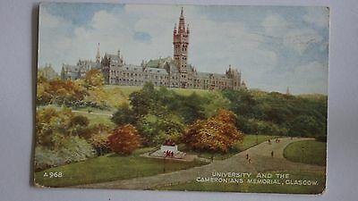 Old postcard from Glasgow.