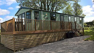 Holiday let 6 Berth 19th AUGUST-26th August 7 Nights SW Scotland static Caravan