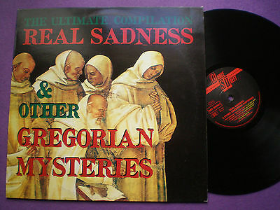 REAL SADNES & OTHER GREGORIAN MYSTERIES GERMANY LP 1990 Ex AMBIENT ELECTRONIC