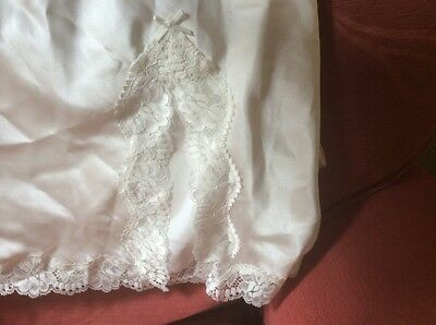Vintage M & S 1980's Half Slip Petticoat Size 18  100% Polyester