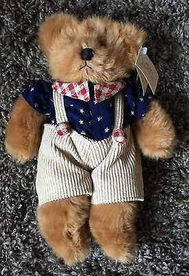 Franklin Russ Berrie Bears Bear From The Past Teddy Bear With Tags