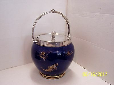 George Jones Crescent  Biscuit Barrel, c1890/1900