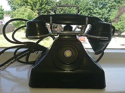 WW2 Royal Navy Admiralty Telephone based on the 232