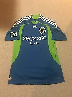Seattle Sounders MLS Soccer Football Shirt Jersey Medium