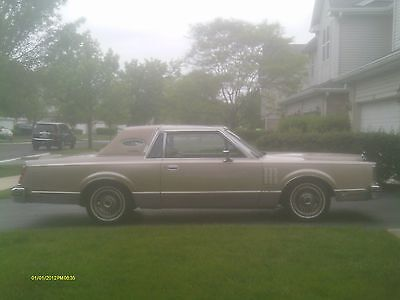 1982 Lincoln Mark VI Signature Series 1982 Lincoln Mark VI Signature Series