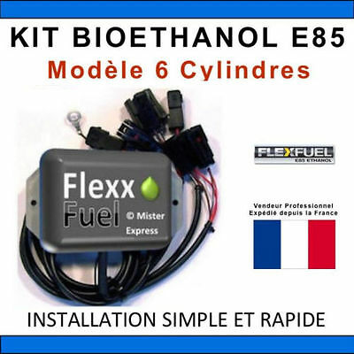 KIT BIO-ETHANOL E85 economiseur de carburant 6 CYL
