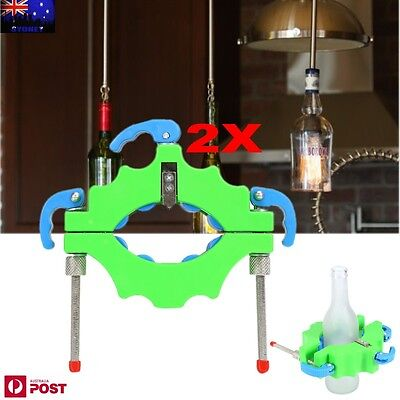 2X NEW MODEL Beer Glass Bottle Cutter Tool Craft Cutting Kit Jar Machine AU