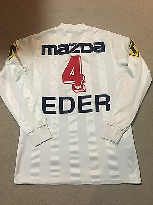 Very Rare Match Worn 1988/89 FC Zurich Norbert Eder Long Sleeved Shirt Jersey
