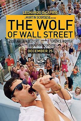 16929 The wolf of wall street TV Wall Print POSTER UK