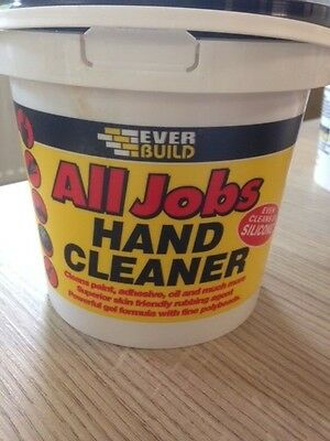 Everbuild All Jobs Hand Cleaner 1ltr BRAND NEW Cleans Paints, Sealants, Adhesive