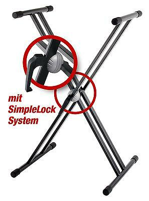 Professional X-Design Double Braced  Heavy Keyboard Stand On Hand Quick Release