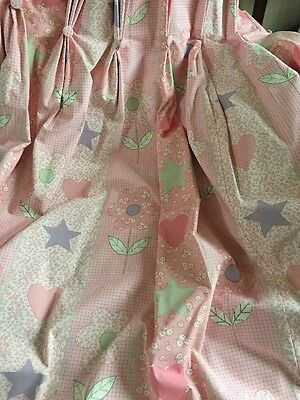 Laura Ashley Pretty Pink Bedroom Curtains