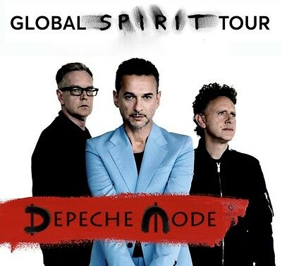 Depeche Mode - Live Hamburg - 11.01.2018 - PK1: - FOS ( Front Of Stage) Tickets