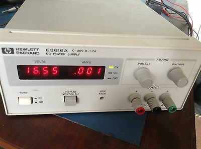 Hewlett Packard E3616a Dc Power Supply