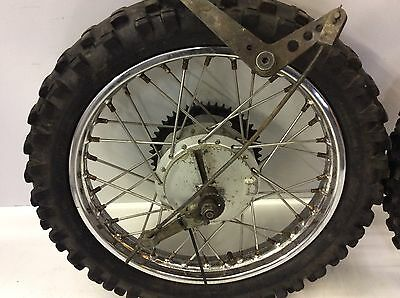 Yamaha Ttr 125 Front And Rear Wheels