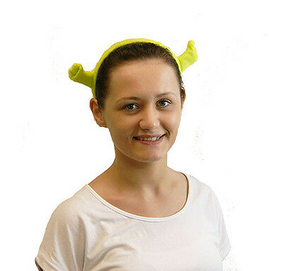 World Book Day/Fiona/Musical/Panto/Stage/ GREEN SHREK EARS Fancy Dress Accessory