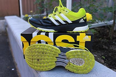 chaussures adidas response boost vert pour hommes, taille 40 2/3