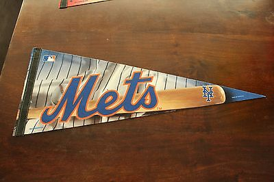 New York Mets Baseball Wall Pennant - Official Mlb Merchandise