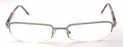 PRADA Full Rim Brown Rectangular Used Glasses Eyeglasses Frame