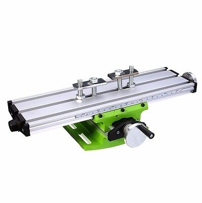 Multifunction Milling Worktable, DIY Woodwork Metal Drilling Mini Machine Table