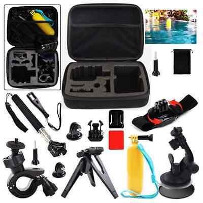 GoPro 13-1 Accessories Kit including Bike Handlebar Mount, Car Windshield