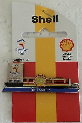 Sydney 2000 Olympic pins - SHELL  Oil Tanker Pin