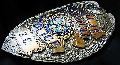 Chesterfield Co. / South Carolina .. obsolete USA COLLECTOR'S POLICE BADGE