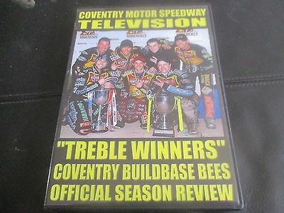 Coventry Bees 2007 Treble Winners Season Review (4 Discs) Original Region 2 Dvd