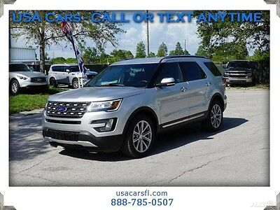 2017 Ford Explorer Limited 2017 Ford Explorer Limited  3.5L V6 Navigation Front&Rear Cameras Leather