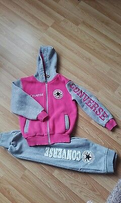 converse tracksuit age 6-7 approx