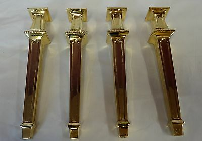 Antique Brass Furniture Holder Legs Cast Reproduction