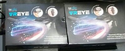 2 VR EYE Virtual Reality Headset  used once.